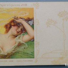 Postales: POSTAL COLLECTION JOB PRIMERISIMA EDICION MUY RARA CALENDRIER 1898 ILUSTRADOR DANIEL HERNANDEZ. Lote 153959190