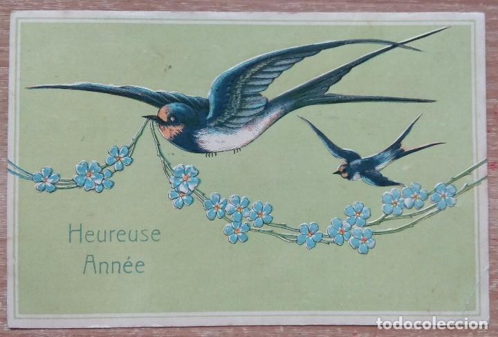 POSTAL DE 1901 (Postales - Postales Temáticas - Dibujos originales y Grabados)