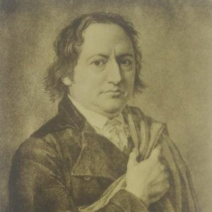 Johann Wolfgang von Goethe (1749-1832) Postal antigua. Serie 115/12. 1450a