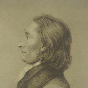 Johann Peter Eckermann (1792-1854) Postal antigua. Serie 149. 1790