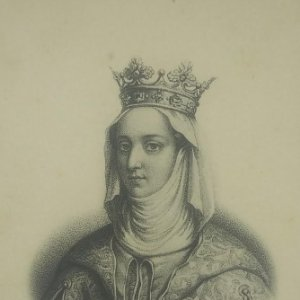 Jeanne de Navarre. Postal antigua. 113
