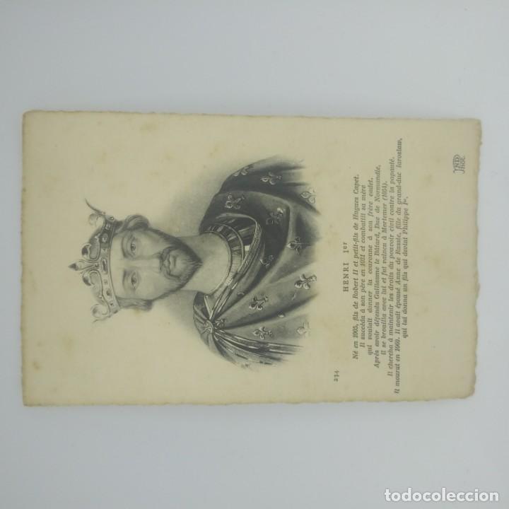 Postales: Henri Ier. Postal antigua. Preciosa impresión. 234 - Foto 2 - 154134678