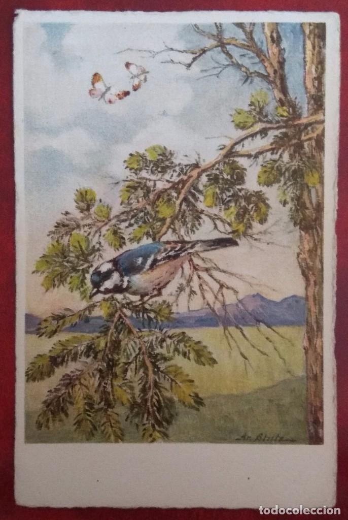 POSTAL DE 1908 (Postales - Postales Temáticas - Dibujos originales y Grabados)