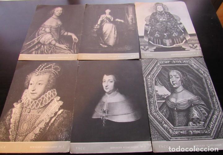 LOTE: 6 POSTALES CIRCULADAS DE UN LABORATORIO FARMACEUTICO BELGA, DESTINADO A UN DOCTOR, AÑO 1960. (Postales - Postales Temáticas - Dibujos originales y Grabados)