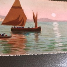 Postales: PINTADO A MANO. Lote 156712882