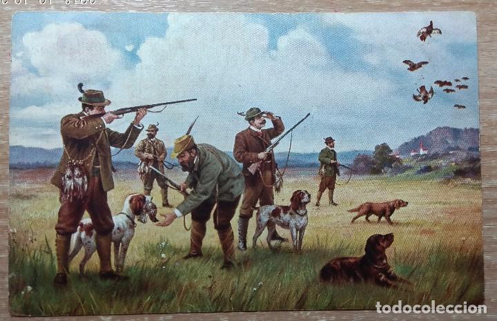 POSTAL DE 1914 (Postales - Postales Temáticas - Dibujos originales y Grabados)