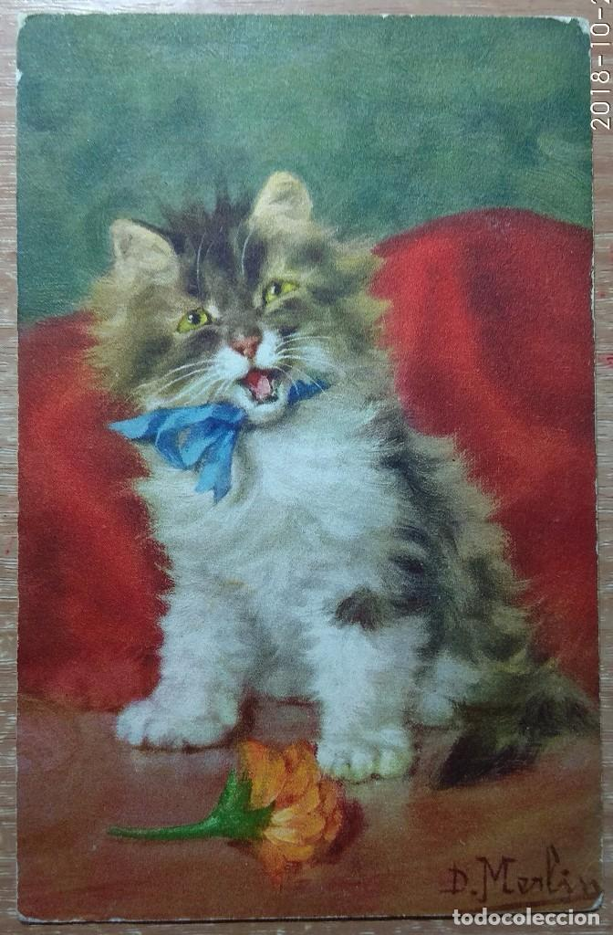 POSTAL DE 1924 (Postales - Postales Temáticas - Dibujos originales y Grabados)