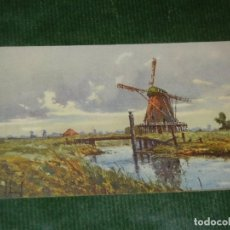 Postales: ANTIGUA POSTAL MOLINO DE VIENTO Y CANAL - ZST.F. 27. Lote 164963502