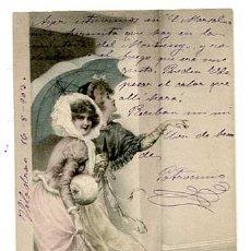 Postales: POSTAL ILUSTRADA POR WICHERA. M.M. VIENNE. REVERSO SIN DIVIDIR. SIN CIRCULAR. Lote 165673998