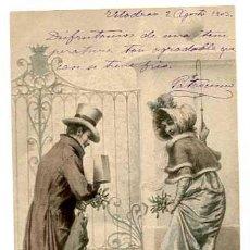 Postales: POSTAL ILUSTRADA POR WICHERA. M.M. VIENNE. REVERSO SIN DIVIDIR. SIN CIRCULAR. Lote 165674034