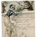 Postales: POSTAL ILUSTRADA POR WICHERA. M.M. VIENNE. REVERSO SIN DIVIDIR. SIN CIRCULAR. Lote 165674086