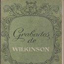 Postales: LIBRITO DE 12 GRABADOS DE WILKINSON-VER FOTOS. Lote 166733210