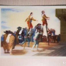 Postales: POSTAL LOS ZANCOS, MUSEO DEL PRADO, GOYA . Lote 170082888