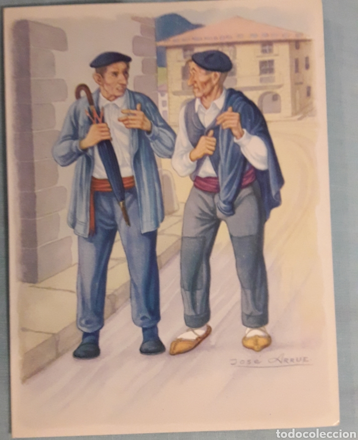 POSTAL JOSÉ ARRUE (Postales - Postales Temáticas - Dibujos originales y Grabados)