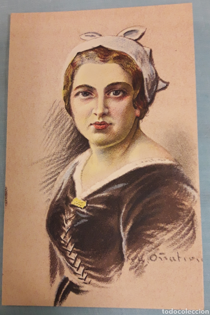 POSTAL VASCA (Postales - Postales Temáticas - Dibujos originales y Grabados)