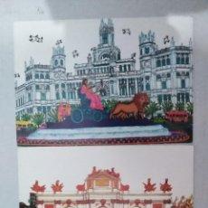 Postales: 21602 - 2 POSTALES - CRISTINA BORONDO - MADRID - LA CIBELES - PUERTA DE ALCALA. Lote 170518644
