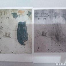 Postales: 21603 - 2 POSTALES - HENRI DE TOULUSE LAUTREC . Lote 170518732
