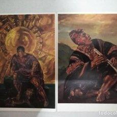 Postales: 21605 - 2 POSTALES - KRISTIAN KREKOVIC - EL TOCADOR DE QUENA - EL HIJO DEL SOL . Lote 170518860