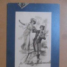 Postales: TARJETA POSTAL CIRCULADA C'1904 - SELLO 5 CTS.. Lote 171129288