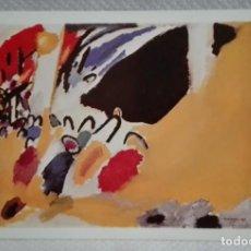 Postales: VASSILY KANDINSKY IMPRESSION III 1911, POSTAL DE 1988. Lote 171635240