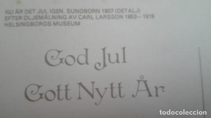 Postales: CARL LARSSON , IMPRESA EN SUECIA AÑOS 80 - Foto 3 - 171635760