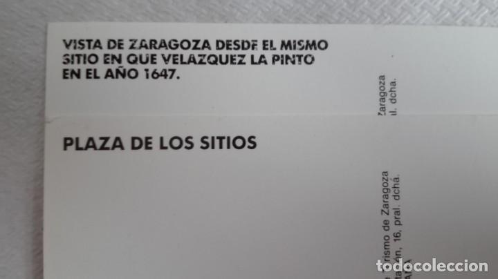 Postales: 2 postales los sitios de zaragoza años 90 - Foto 3 - 171635947
