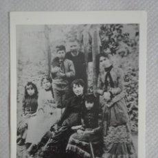 Postales: ROSALIA DE CASTRO Y FAMILIA, SIN CIRCULAR. Lote 171636724