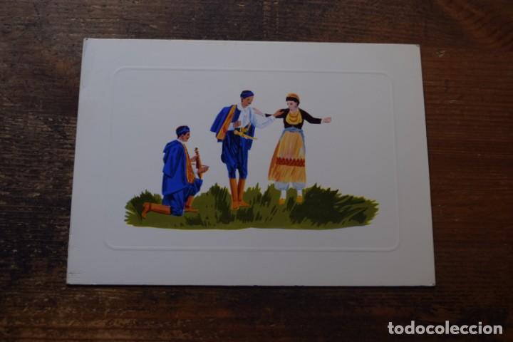 ESCENA POPULAR DE GRECIA (Postales - Postales Temáticas - Dibujos originales y Grabados)