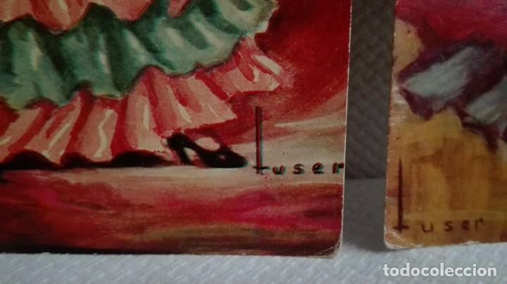 Postales: TRES POSTALES TRAJES ANDALUCES DE OBRAS DE JOSE MARIA TUSER AÑOS 60 - Foto 2 - 171656222