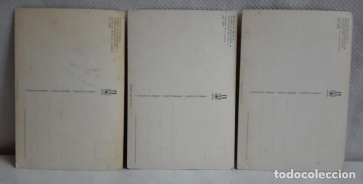Postales: TRES POSTALES TRAJES ANDALUCES DE OBRAS DE JOSE MARIA TUSER AÑOS 60 - Foto 3 - 171656222