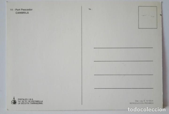 Postales: PORT PESCADOR ILUSTRADA POR FAINE 1991 SIN CIRCULAR - Foto 2 - 172552524