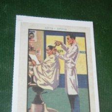 Postales: REPRODUCCION FAVINI 2005 NUM.130 - CEREGUMIL ARTS I OFICIS EL PERRUQUER. Lote 174010089