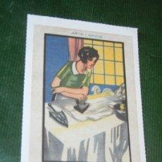 Postales: REPRODUCCION FAVINI 2005 NUM.131 - CEREGUMIL ARTS I OFICIS LA PLANCHADORA. Lote 174010142