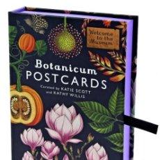 Postales: BOTANICUM. 50 POSTALES DE BOTÁNICA. JARDINES REALES DE KEW. POR KATIE SCOTT. Lote 175841443
