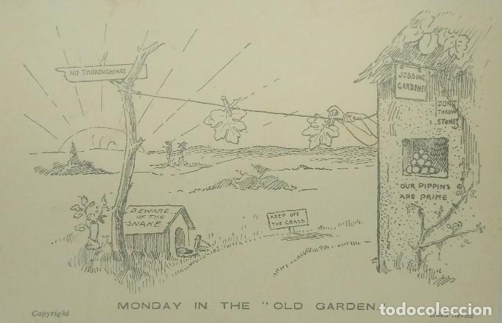 Monday in the Old Garden. Eden Series (ver sello)