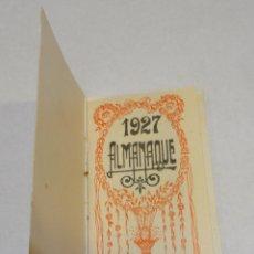 Postales: ALMANAQUE 1927 OBRA DE ROMERO DE TORRES. IMPRENTA Y PAPELERÍA CATALANA. Lote 176380985