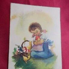 Postales: ANTIGUA POSTAL. COLECCIÓN C Y Z SERIE 504/B. VERNET. Lote 176868819