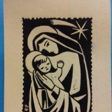 Postales: LA VIRGEN MARIA Y EL NIÑO. NUEVA. Lote 178951133