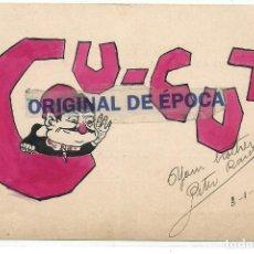 Postales: (PS-62169)POSTAL DE CU-CUT-DIBUJO ORIGINAL.ARCHIVO PERE RAICH. Lote 183931885