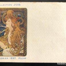 Postales: JOB 1897 MUCHA. Lote 185773997