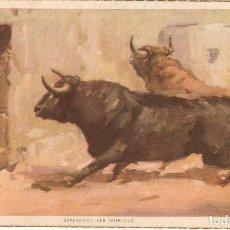 Postales: POSTAL CORRIDA DE TOROS 12 - JDP VALENCIA. Lote 187477141