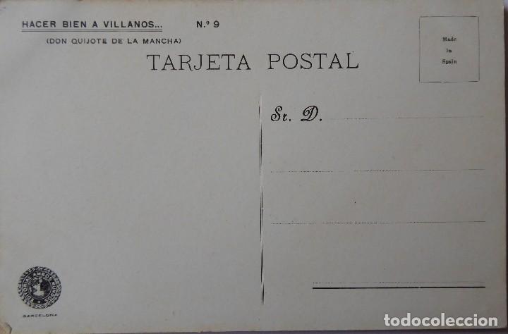 Postales: P-9837. POSTALES DON QUIJOTE DE LA MANCHA. COLECCIÓN COMPLETA DE 25 POSTALES. AÑOS 20. SIN CIRCULAR. - Foto 3 - 192273252