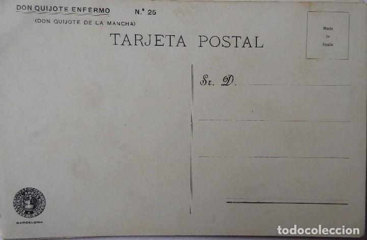 Postales: P-9837. POSTALES DON QUIJOTE DE LA MANCHA. COLECCIÓN COMPLETA DE 25 POSTALES. AÑOS 20. SIN CIRCULAR. - Foto 5 - 192273252