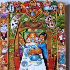 Postales: P-9844. ALICIA EN EL PAÍS DE LAS MARAVILLAS. DEPTH CARDS.DESPLEGABLE TRIDIMENSIONAL. AÑO 1997. Lote 192935810