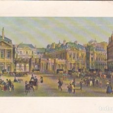 Postales: * PARÍS * DÍPTICO: LE PALAIS ROYAL A XIX SIÈCLE. Lote 193859536