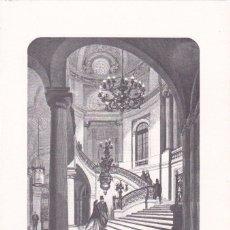Postales: * PARÍS * DÍPTICO: LE PALAIS ROYAL, ESCALIER D´HONNEUR. Lote 193859575