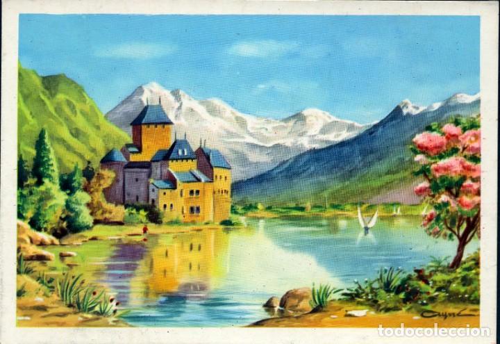Postales: 6 ANTIGUAS POSTALES ARTIGAS - 4 unidades Colección Sirenita y 2 unidades Colección 5538 - Foto 2 - 194029392
