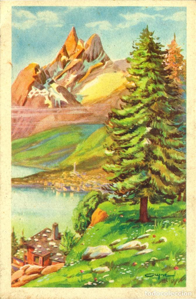 Postales: 6 ANTIGUAS POSTALES ARTIGAS - 4 unidades Colección Sirenita y 2 unidades Colección 5538 - Foto 3 - 194029392