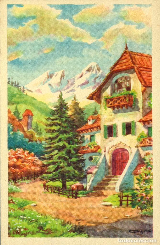Postales: 6 ANTIGUAS POSTALES ARTIGAS - 4 unidades Colección Sirenita y 2 unidades Colección 5538 - Foto 4 - 194029392