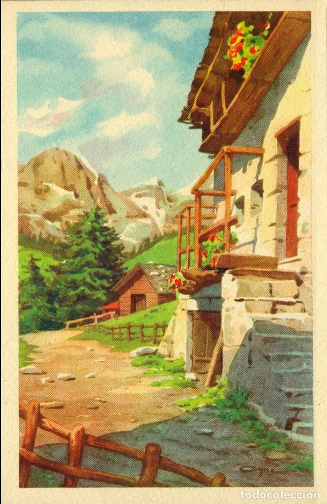 Postales: 6 ANTIGUAS POSTALES ARTIGAS - 4 unidades Colección Sirenita y 2 unidades Colección 5538 - Foto 5 - 194029392